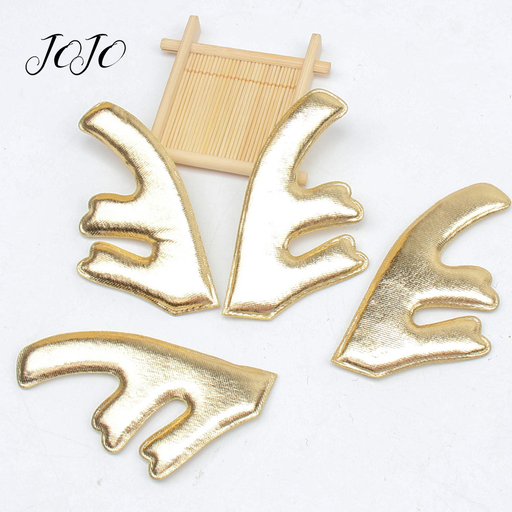 JOJO BOWS 55*105mm 10pc Ultrasonic Antler Patches For DIY Crafts Supplies Handmade Hair Bows Headband Accessories Apparel Sewing