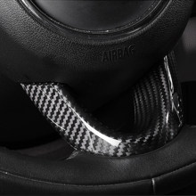 Car Steering Wheel Decoration Cover Trim Frame Sticker Modification For MINI Cooper F54 F55 F56 F57 F60 car accessories interior(China)