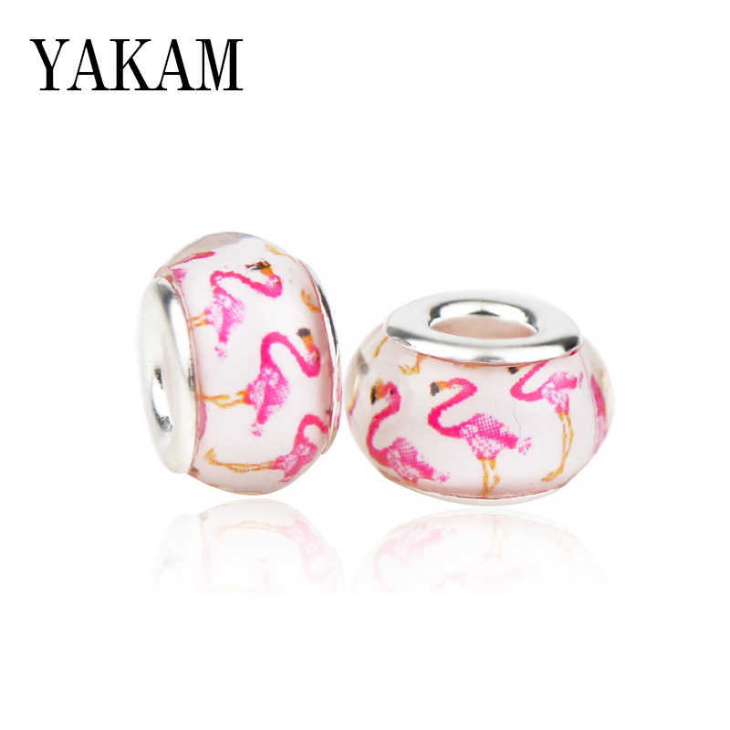 Lovely Flamingo Beads Charms
