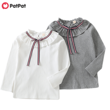 Clothing Top-Shirts Spring Long-Sleeve Girls Children's Patpat Autumn And New-Arrival