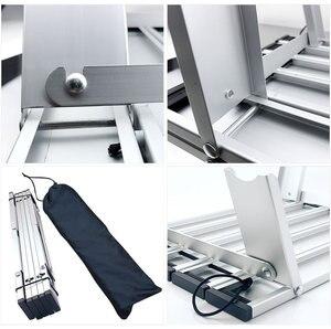 Image 5 - Offre spéciale Portable pliable Table pliante bureau Camping pique nique en plein air 6061 en alliage daluminium Ultra léger bureau pliant