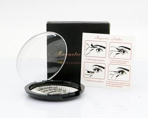 Image 5 - MB New Long 5 Magnetic Eyelashes Eyeliner Set 3D Mink Eyelashes Thick Faux Cils Magnetique Natural Glue Free Magnet False lashes