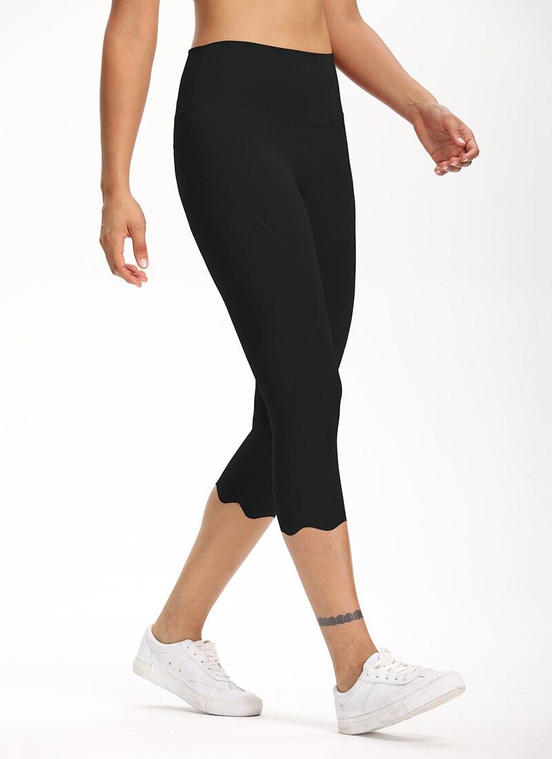 H847f7db65e7f4aed8b1c9fa84fecc12el Cardism High Waist Sport Pants Women Yoga Sports Gym Sexy Leggings For Fitness Joggers Push Up Women Calf Length Pants Wave