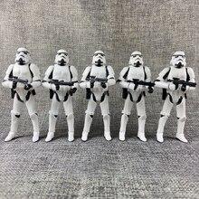 Lote de 5 star wars otc trilogia império storm trooper 3.75