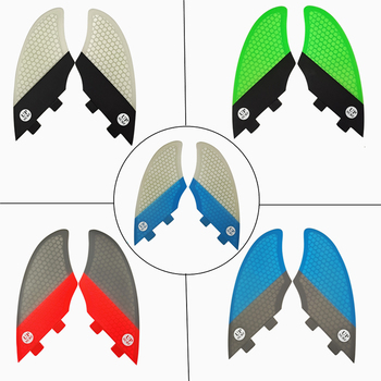 цена на 2020 Hot FCS surf fins Surfing Surfboard FCS Fins Future Keel fin FCS Pair Sell In Surfing Blue/White/gray/Red/green/black Color