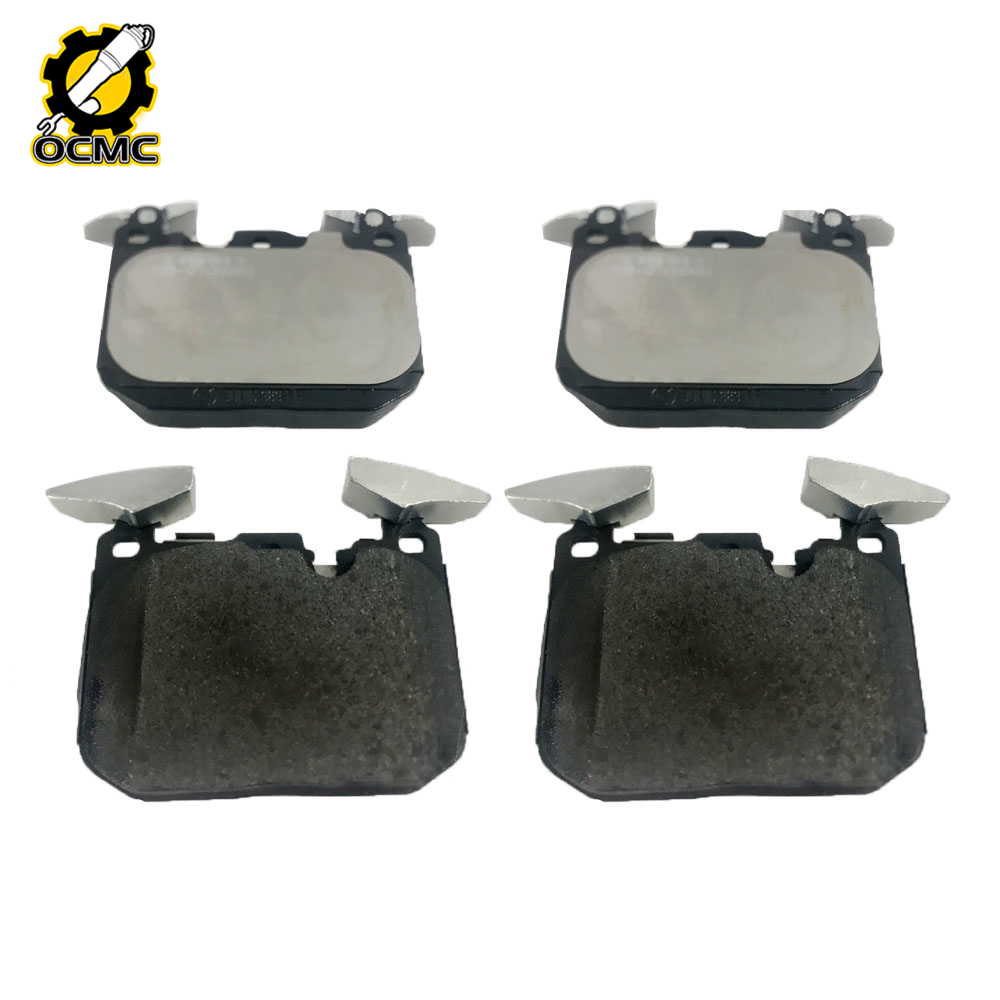 Front Disc Brake Pads 34116878876 4 Pieces For 2014 2015 2016 BMW 228i 428i 435i M235i image