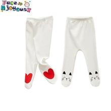 Штаны для новорожденного младенца любого пола Детские хлопковые брюки со средней посадкой для маленьких мальчиков и девочек 0-24 месяцев штаны для ног даже носки детские леггинсы