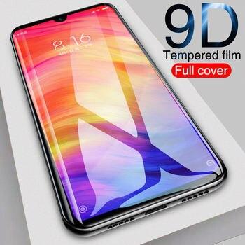 9D Tempered Glass For Xiaomi Mi 9 SE Lite 9T Screen Protector On Redmi 7 8A