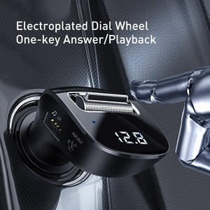 Image 3 - Baseus USB Car Charger For Phone FM Transmitter Bluetooth 5.0 Handsfree Audio MP3 Player Aux Bluetooth Adapter Fast Charging