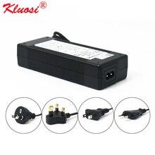 KLUOSI 3S 12.6V 5A Charger Power Supply Adapter 12V Lithium Battery Pack Li ion Batterites EU/US/AU/UK AC DC Plug Converter