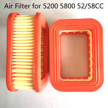 1pc Air Filter Replacement Kit For 5200 5800 52CC 58CC Chainsaw Accessories(China)