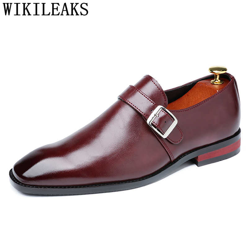 Keşiş askısı erkek ofis ayakkabı erkek resmi ayakkabı erkek oxford deri elbise ayakkabı erkekler chaussure mariage homme zapatos clasicos de hombre