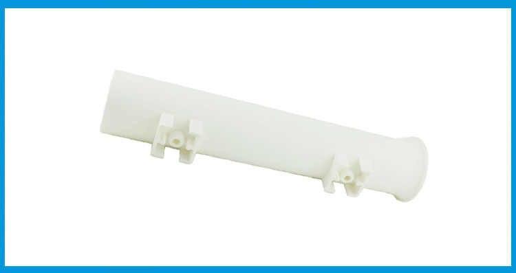 Soporte de plástico blanco para caña de pescar, soporte para caña de pescar, zócalo para bote, caja de pesca marina, kayak, barco, yate