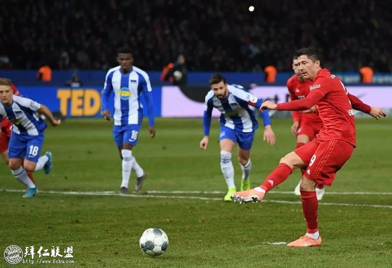 下半程开门红 拜仁客场4:0大胜柏林赫塔2