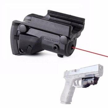 MIZUGIWA Tactical Hunting 5mw Red Dot Laser Sight Laser Pistol Handgun Rifle Gun for Glock 17 19 20 21 22 23 Hunting Caza