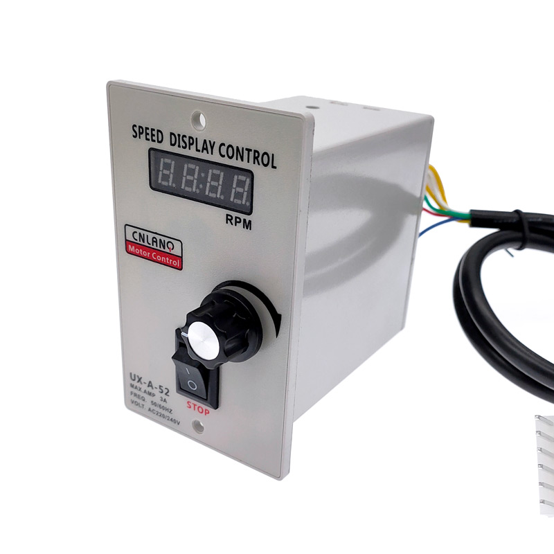 Digital Display Speed Controller  UX-A-52 400W AC 220V Motor Speed Pinpoint Regulator Controller Forward & Backward 50/60hz