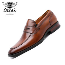 Loafers Men Shoes Genuine-Leather Moccasins New Flats Comfortable Quality Hot-Sale Man