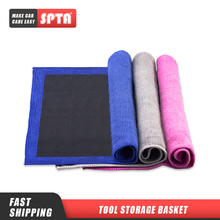 SPTA Car Wash Mud Cloth Auto Beauty Grinding Mud Coth Magic Clay Cloth Towel Car Wash Strong Decontamination and Black Towel