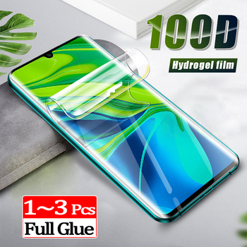 100d curved full cover Soft protective glass on the for mi10 pro xiaomi mi note10 Hydrogel Film mi note 10 lite screen protector 6d tempered glass for xiaomi mi note 3 full cover curved screen protector film on the for xiaomi mi note 3 protective glass