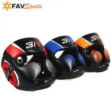 Полностью покрытый боксерский шлем Муай Тай из искусственной кожи тренировочный спарринг боксерский головной убор Тренажерное Оборудование тхэквондо защита головы