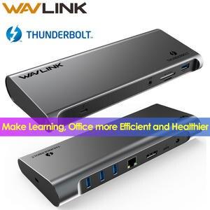 Display Docking Station Power-Delivery Work-Online Thunderbolt 3 Usb-C Gigabit Intel