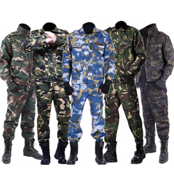 Army Military Uniform Camouflage Tactical Clothing Men Special Forces Airsoft Soldier Training Combat Clothes Jacket Pant Set