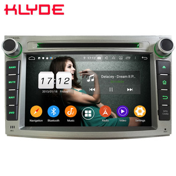 Klyde 4G WIFI Android 9.0 Octa Core 4GB RAM 64GB ROM BT DSP Car DVD Player Radio GPS Glonass For Subaru Outback Legacy 2009-2014