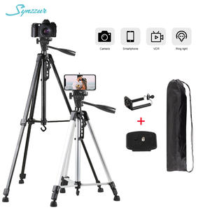 55inch/140cm Portable Tripod Stand For Smartphone Ring Light Dslr Photography Tripod