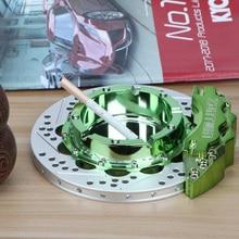 Forging Aluminum alloy ashtray for home decoration, home office supplies, cigar ashtray, Car wheel brake caliper series