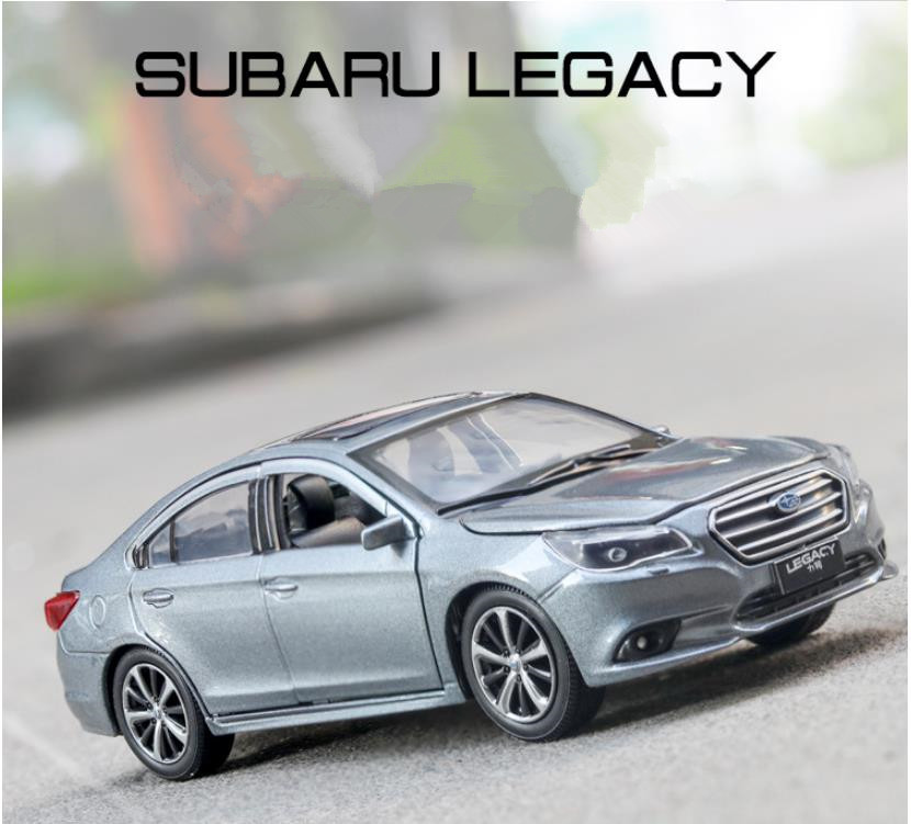 High Simulation Alloy Pull Back Car Toy,1:32 Subaru Legacy Car Model,collection Ornaments,free Shipping