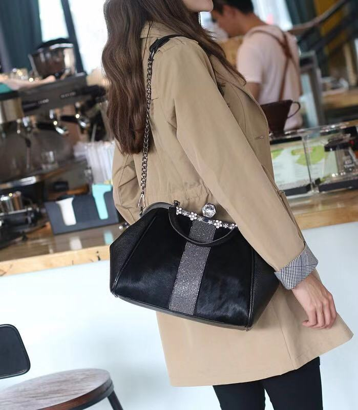 Marca de moda senhoras bolsa de couro