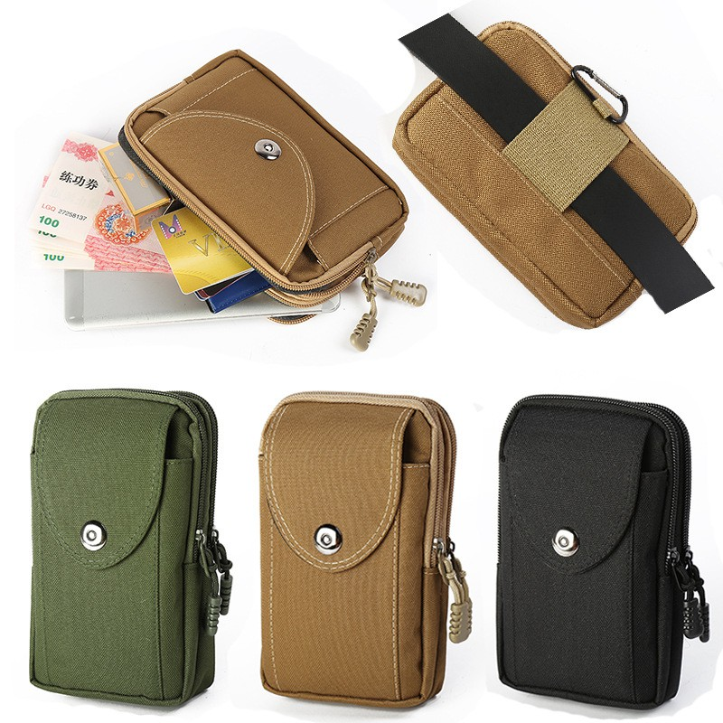 16*10* 4 Cm Men's Waistbags Belt Phone Pouch Sports Running Mobile Phone Pocket Bag Portable
