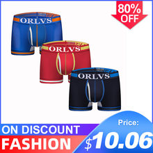 3Pcs/lot CMENIN U Convex Cotton LOGO Low waist Underwear Mens Boxer Homme Lingeries Boxer Men Undeware Boxers Man OR118(China)
