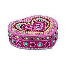 diamond painting Jewelry Box for Girls, Necklace and Earring Organizer Jewerly Storage Box