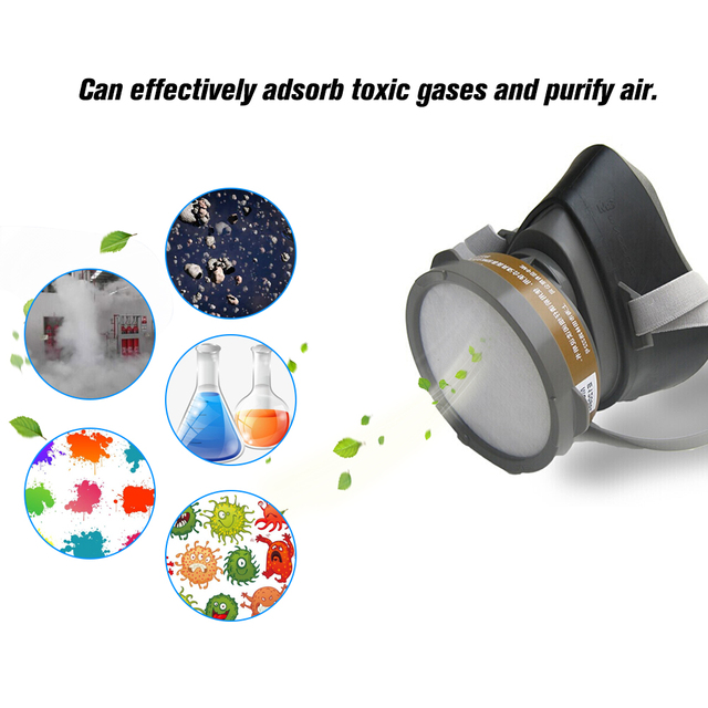 3M 320P Dust Mask + 3701CN Filter cotton Half Face Dust-proof Mask Anti Industrial Construction Dust Haze Fog Safety Gas Mask 6