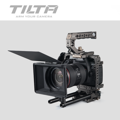 Tiltaing Mini Matte Box for DSLR mirrorless style cameras Tilta lens hood accessories title=