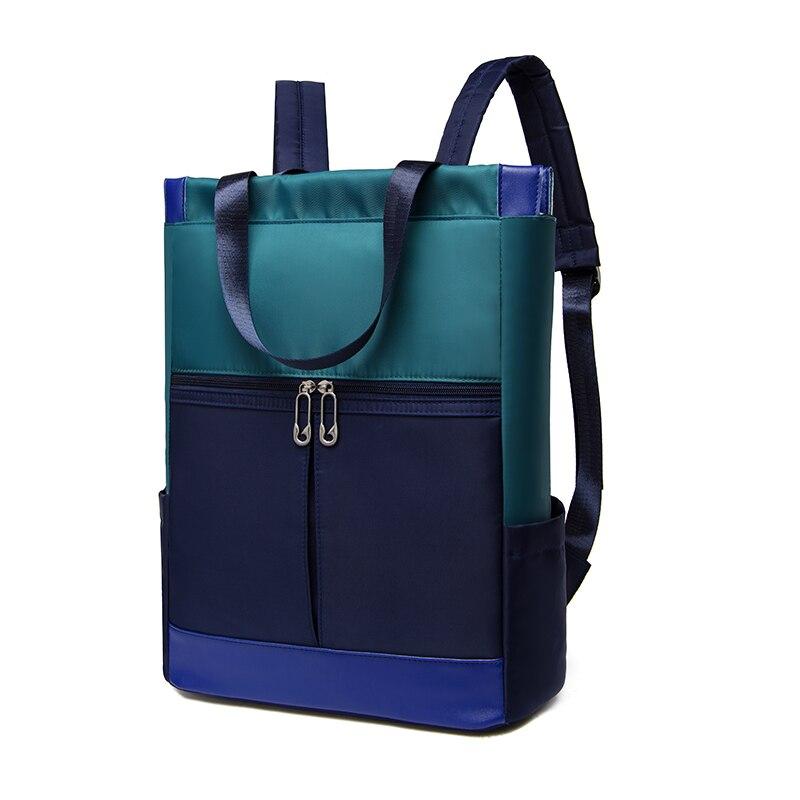 Women Large Capacity Ladies Hand Double Shoulder Bags Female Bagpack Satchel Travel Bolsa Nylon Waterproof 15.6 Laptop Backpack