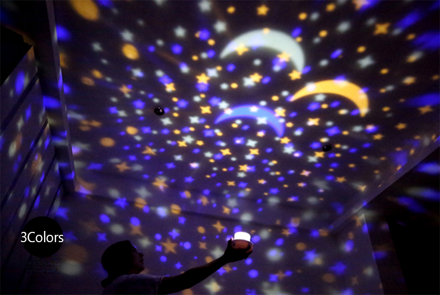 Starry Sky Planetarium Light Made Of ABS+PC Material for Decorating Light 18