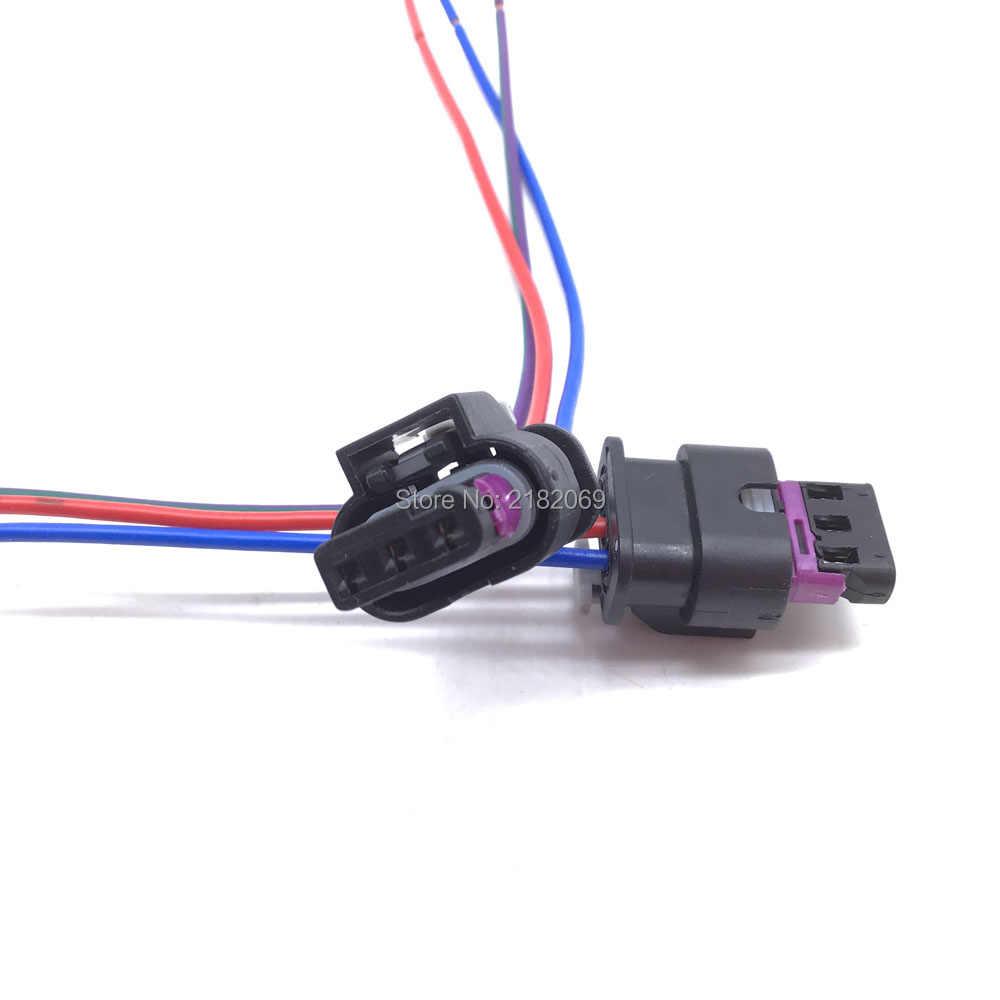 3PIN PDC SENSORI di Parcheggio Sensore Connettore del Sensore di Connettore Del Cavo Per VW GOLF PASSAT Audi A1 A3 A4 A6 A7 Q5 Q7 R8 TT Sede Skoda 4F0973703, 4H0973703