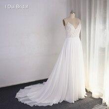 Свадебное платье на бретельках, ТРАПЕЦИЕВИДНОЕ ПЛАТЬЕ С кружевной аппликацией, топ с жемчужинами и фатиновая юбка