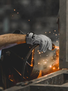 QIANGLEAF Work-Gloves Wear-Resistant Pig-Split-Leather Welding Brand for 321 Product