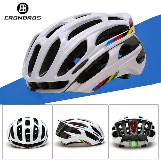 Capacete de ciclismo estrada mtb corrida capacete da bicicleta capacete ciclismo esportes ao ar livre montanha capacete vermelho led cauda luz equipamentos 1