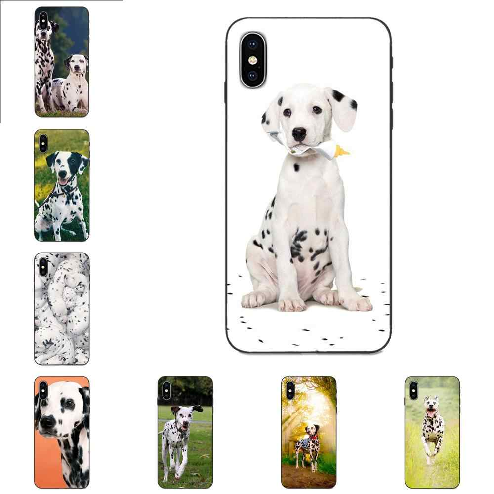 Ốp Lưng dẻo Cho Huawei Nova 2 2S 3i 4 4E 5 I Y3 Y5 II Y6 Y7 Y9 Lite Plus Thủ pro 2017 2018 2019 Con Chó Đốm Chó con