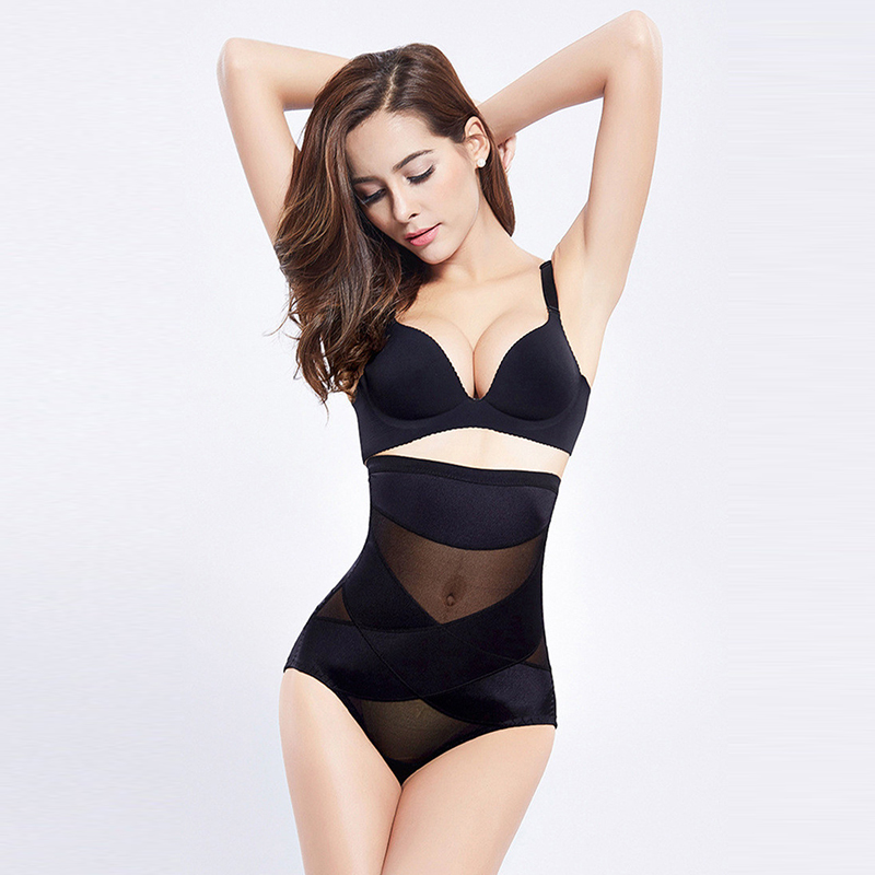 Inadice 2019 Seamless High Waist Shorts Slimming Pants Corset Belt Polyester Ladies Underwear Control Panties Tummy Body Shaper