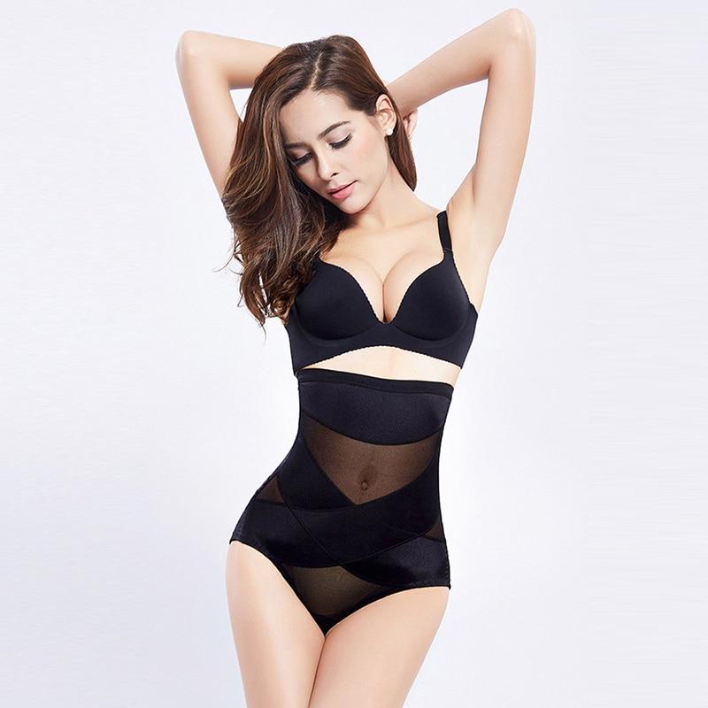 Inadice 2019 Seamless High Waist Shorts Slimming Pants Corset Belt Polyester Ladies Underwear Control Panties Tummy Body Shaper