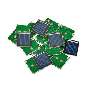 SUNYIMA 20Pcs Solar Panel China Painel Solar Polycrystalline Silicon Solar Cell DIY Technology Mini Material 0.5V 80MA
