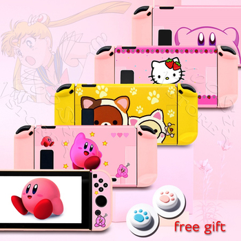 Newest Nintend Switch Pink Cute PC Case for Nintendo Switch Console Accessories Protective Cover Nintendoswitch NS Hard Shell 1