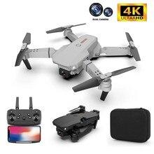 2021 novo zangão 4k 1080p hd câmera wifi fpv pressão de ar altitude manter preto e cinza dobrável quadcopter profissional rc dron brinquedo