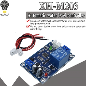 XH-M203 water level controller automatic water level controller water level switch level water pump controller S18 Drop shi фото