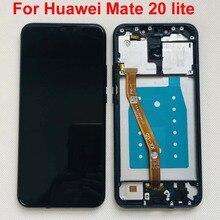 Huawei pantalla LCD Mate 20 Lite mate 20 lite de 100% pulgadas, Original, probado al 6,3, con Digitalizador de panel táctil y Marco